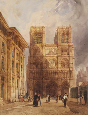 <P>TS Boys: <EM>Notre-Dame Paris</EM>, 1836Cat 46©Victoria and Albert Museum, London.</P>