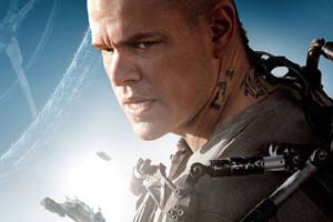 Matt Damon in <EM>Elysium</EM>