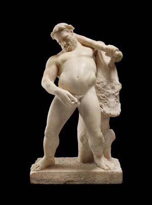 "<DIV class=galleria-info-description peppyCount=""91"">Marble statue of the drunken Hercules from Herculaneum's House of the Stags</DIV>"