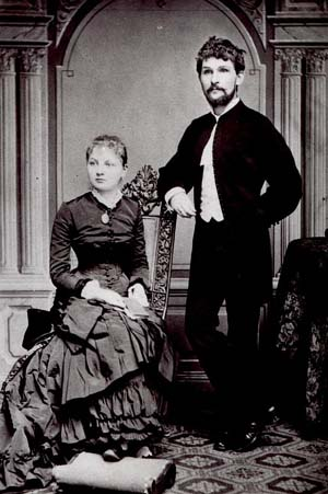 Leoš Janáček and his wife, 1881
