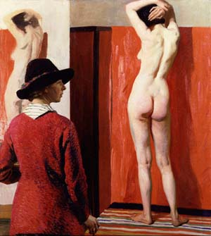 Dame Laura Knight: <EM>Self-portrait</EM>, 1913National Portrait Gallery