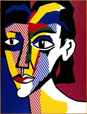 <P>Roy Lichtenstein: Portrait </P>