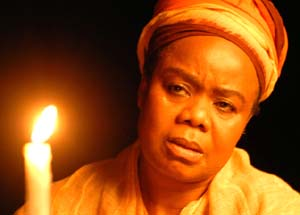 Thembi Mtshali in <EM>Mother to Mother</EM>