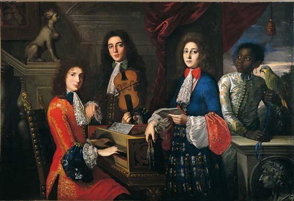 Anton Domenico Gabbiani � Musicians and singers for the Grand Prince Ferdinando
