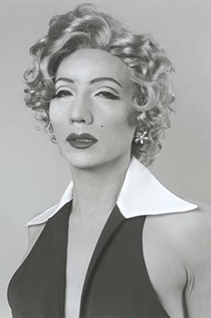 Yasumasa Morimura: <EM>Self Portrait (B/W) - After Marilyn Monroe</EM>, 1996Courtesy of the artist and Luhring Augustine, New York