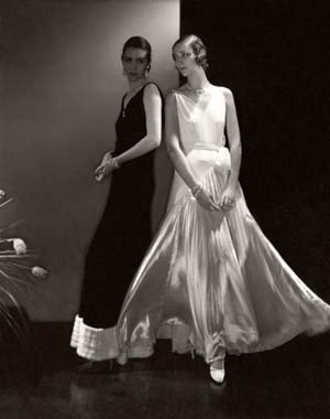 Edward Steichen American 1879–1973, worked in France 1906–23<EM>Marion Morehouse and unidentified model wearing dresses by Vionnet</EM> 1930gelatin silver photographCourtesy Condé Nast Archive © 1930 Condé Nast Publications