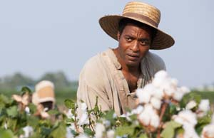 Chiwetel Ejiofor in <EM>12 Years A Slave</EM>