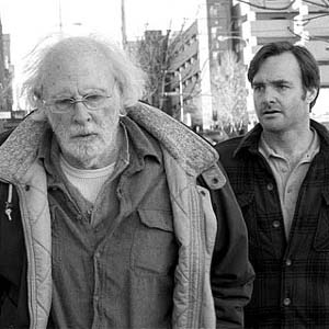 Bruce Dern and Will Forte in<EM> Nebraska</EM>