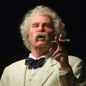 Val Kilmer as Mark Twain