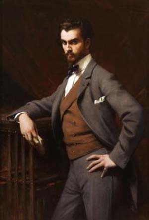 Théobald Chartran (French, 1849 –1907): <EM>James Hazen Hyde</EM> (1876-1959), 1901Oil on canvasNew-York Historical  SocietyGift of James Hazen Hyde, 1949.1