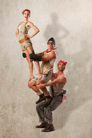 <P>Circus Oz: <EM>From the Ground Up</EM>Photo: Robert Blackburn </P>