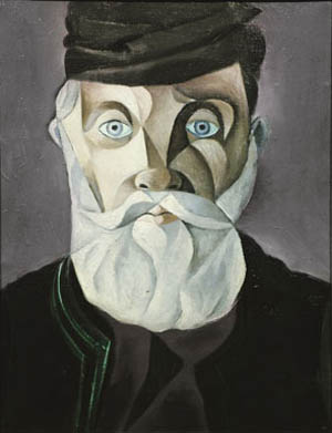 John Craxton: <EM>Head of an Aged Cretan</EM>, November 1948Oil on canvas, 45.5 x 35.5 cmPrivate Collection, London
