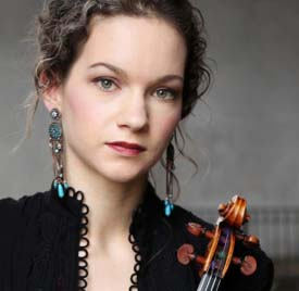 Hilary Hahn Photo: Peter Miller