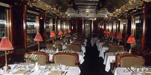 Orient Express: Restaurant carriage