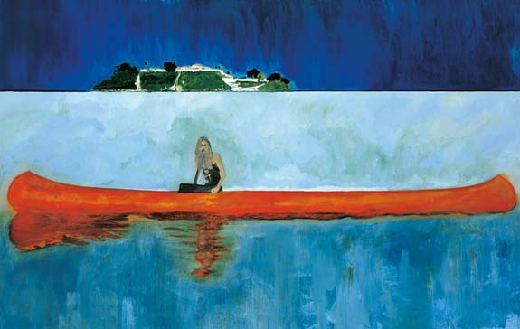 Peter Doig: 100 Years Ago (Carrera), 2001