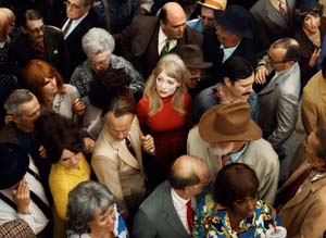<P>Alex Prager: <EM>Crowd #2 (Emma),</EM> 2012Archival pigment printCourtesy of the artist</P>