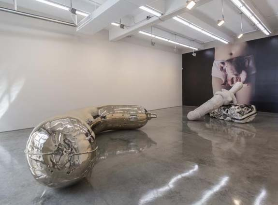 Sarah Lucas: Nud Nob Installation New York