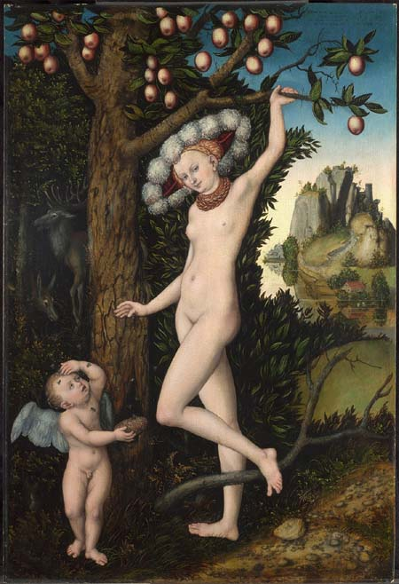 Lucas Cranach the Elder: Cupid Comlaining to Venus