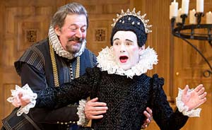 Mark Rylance in <EM>Twelfth Night</EM>