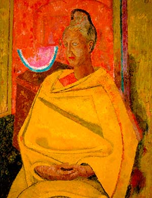 Rufino Tamayo: <EM>Retrato de Olga</EM>, 1964Oil on canvasCollection Museo Tamayo Arte Contemporaneo, Mexico City© Tamayo Heirs/Mexico/Licensed by VAGA, New York, NY.