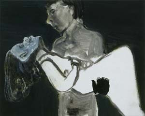 <P>Marlene Dumas: <EM>The Image as Burden</EM>, 1993Photo courtesy of Stedelijk Museum</P> • <P> </P>