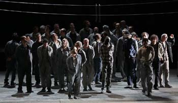 <P><EM>Fidelio</EM>Teatro alla Scala Photo: Marco Brescia</P> • <P> </P> • <P> </P>