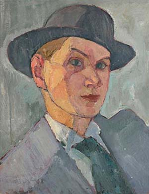<P>Nils Dardel: <EM>Self-Portrait with hat</EM>, 1911 © Nils Dardel</P> • <P> </P>