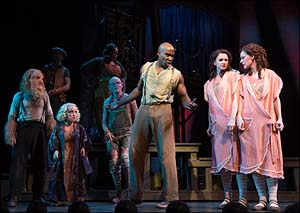 David St. Louis, Emily Padgett and Erin Davie in <EM>Side Show</EM>