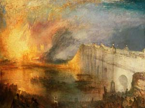<P>Joseph Mallord William Turner: <EM>The Burning of the Houses of Lords and Commons, October 16, 1834</EM>, 1834–35Oil on canvas 92.1 x 123.2 cm (36 1/4 x 48 1/2 in.) Philadelphia Museum of Art: The John Howard McFadden Collection, 1928 EX.2015.3.3.</P>