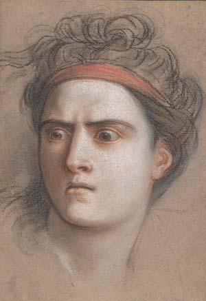 Charles Antoine Coypel: (French, 1694-1752) Medea, ca. 1715 • Pastel; 11 9/16 x 8 1/8 in. (29.4 x 20.6 cm) • The Metropolitan Museum of Art, New York • Harris Brisbane Dick Fund, 1953 (1974.25)