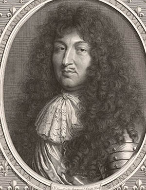 Robert Nanteuil (French, 1623–1678), <EM>Louis XIV, King of France and Navarre</EM> 1676.Engraving The Getty Research InstituteLos Angeles (2012.PR.70).