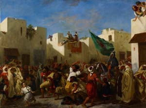 Eugène Delacroix: <EM>Convulsionists of Tangier</EM>, 1837–8© The Minneapolis Institute of ArtBequest of J. Jerome Hill 73.42.3