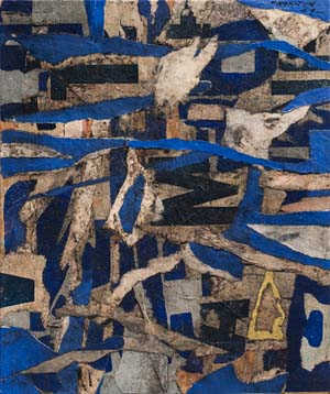 <SPAN class=pie>Gene Charlton, Untitled, 1959.Collage on academy boardThe Menil Collection, Houston©Gene Charlton.</SPAN>