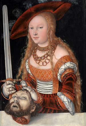 "<DIV class=""content ""> • <DIV class=title>Lucas Cranach the Elder: Judith with the Head of Holofernes</DIV></DIV>"