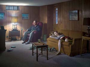 Gregory Crewdson: <EM>The Basement</EM>, 2014Digital pigment printImage size: 37 1/2 × 50 inches (95.3 × 127 cm)Edition of 3 + 2 APs© Gregory Crewdson