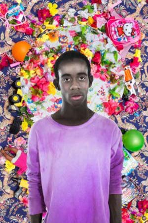 Ebony G. Patterson: <EM>Untitled (Boy),</EM> 2016Work in progressImage courtesy the artist and Monique Meloche Gallery