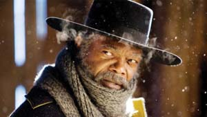 Samuel L. Jackson in <EM>The Hateful Eight</EM>