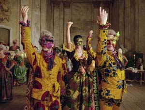 Still from <EM>Un Ballo in Maschera</EM>, Yinka Shonibare MBE, 2004, High definition digital videoCourtesy of James Cohan Gallery.
