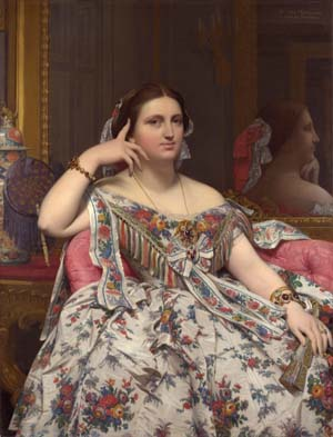 Jean Auguste Dominique Ingres: <EM>Madame Moitessier</EM>© The National Gallery, LondonDist. RMN-Grand Palais / National Gallery Photographic Department