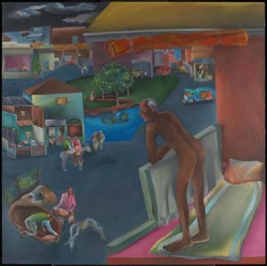 Bhupen Khakhar: <EM>You Can't  Please All</EM> 1981© Bhupen Khakhar