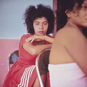 Danny Lyon, Tesca, Cartagena, Colombia, 1966Cibachrome, printed 2008. Image 25.7 × 25.7 cm (10 1/8 × 10 1/8 in.)Collection of the artist© Danny Lyon, courtesy Edwynn Houk Gallery, New York