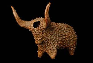 Xhosa Snuffbox in the shape of an ox, South Africa, Late 19th CenturyPhoto © The Trustees of the British Museum