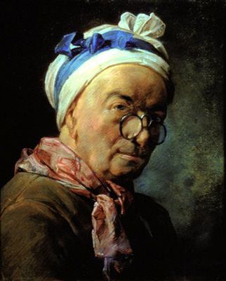 Self-Portrait Chardin aux besicles