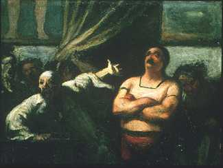 <FONT face=Arial>Daumier: <EM>The Strong Man</EM> (c. 1865 - 1867) The Phillips Collection, Washington, D.C</FONT>