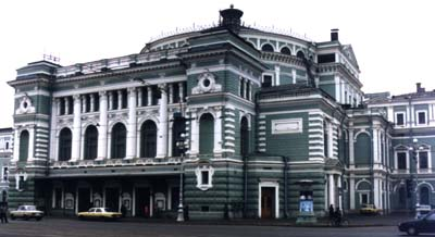 The Kirov Theatre, St Petersburg