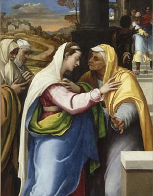 Sebastiano del Piombo: <EM>The Visitation</EM>, 1518 - 1519© The National Gallery, London