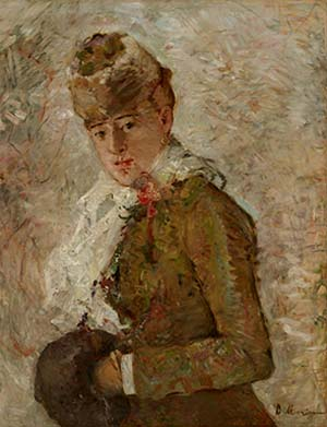 Berthe Morisot: <EM>Winter,</EM> 1880Oil on canvasDallas Museum of Art, Gift of the Meadows Foundation, Incorporated, 1981.129Photo courtesy Dallas Museum of Art.
