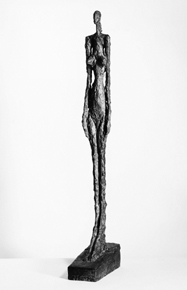 Alberto Giacometti : Femme de Venise V, 1956 • Private Collection • Photo courtesy of the Kunsthaus Zürich
