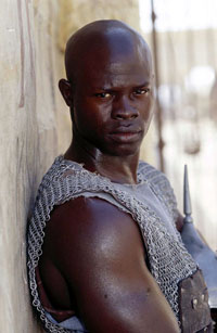 Djimon Hounsou as Juba in Gladiator