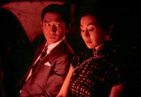 Tony Leung and Maggie Cheung in In The Mood For Love
